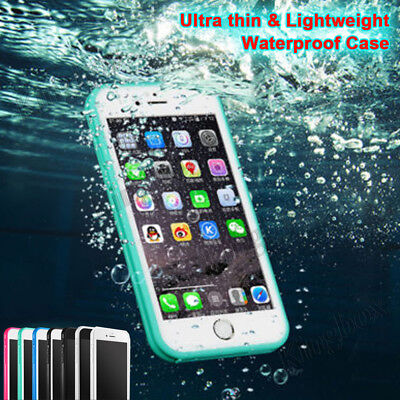 Waterproof Shockproof Hybrid Rubber TPU Phone Case Cover For iPhone 6S 7 8 Plus