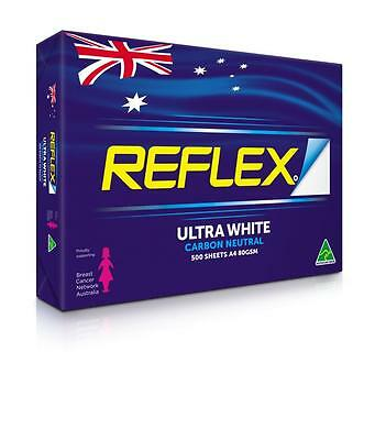 Reflex Ultra White Carbon Neutral A4 Copy Paper 80gsm Box 5 Reams