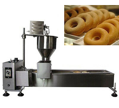 Commercial Automatic Donut Maker Donut Fryer Donut Making Machine 110V