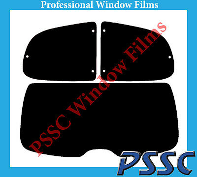 PSSC Pre Cut Rear Car Window Films - Peugeot 206 3 Door Hatchback 1999 to 2010