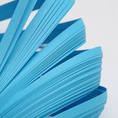 120strips/bag Paper DeepSkyBlue Quilling Paper Strips 530x5mm Kids Gifts Making