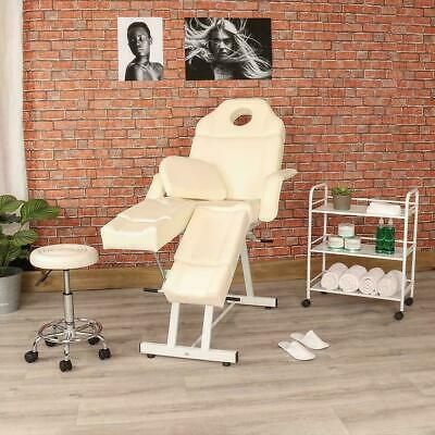 Manual Pedicure Chair Side Trolley Drawer And Stool Set Salon Beauty