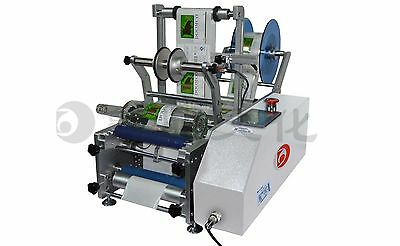 DD-BY-D1 Semi-automatic round bottle labeling machine