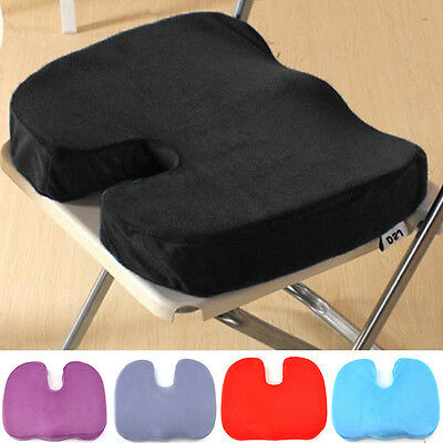 Office Memory Foam Seat Cushion Chair Coccyx Back Pain Relief Orthopedic Pillow