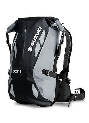 Genuine Original Suzuki Dry Backpack Waterproof Laptop pocket  990F0-DRYBP-000