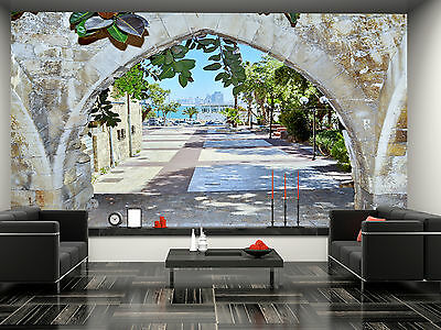 Old arches,Israel Wall Mural Photo Wallpaper GIANT DECOR Paper Poster Free Paste