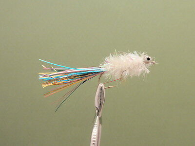 Trout Flies 8 Humungous Fishing Fly,Silver and Orange Size 10 hook Fly Fishing