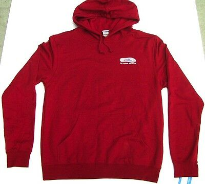 LAKAI Hooded Sweatshirt The shoes we skate red Größe L