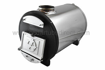 Chofu Wood Fired-Hot tub heater -No electricity require