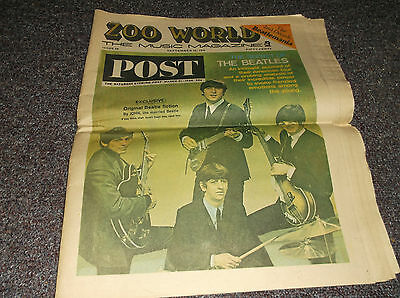 Zoo World September 26 1974 The Beatles 48 pages vintage