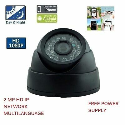 1080P 2MP 3.6MM OUTDOOR DOME IP HD IR Security NETWORK Camera CCTV mtlc