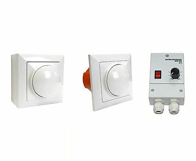 Manual Speed Controller for Extractor Fans Commercial Industrial Motor Regulator