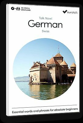 Eurotalk Talk Now Swiss German for Beginners - Download option and CD ROM