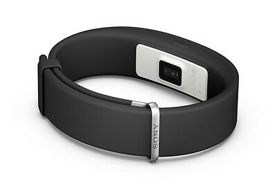 SONY SmartBand 2 SWR12 Heart Rate Monitoring Android -  Black