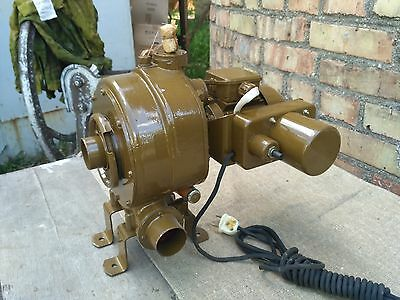 Handle forge blower auxiliary electromotor army USSR new