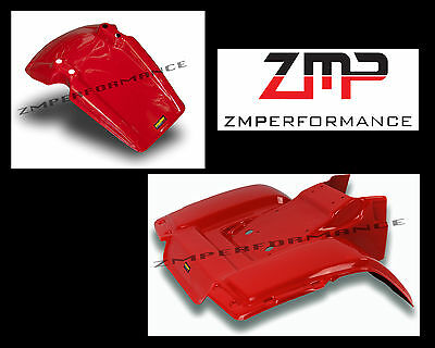 NEW HONDA ATC185S ATC 185S 81-82 RED PLASTIC FRONT AND REAR FENDER SET
