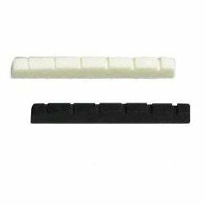 New Guitar Parts Slotted Plastic Nuts (electric)