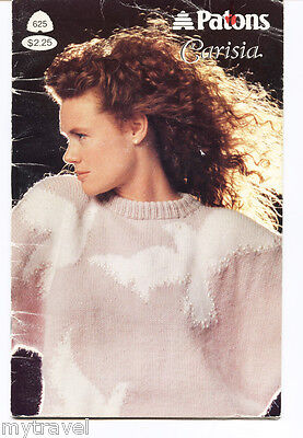 Patons Knitting Patterns Small Booklet - Carisia