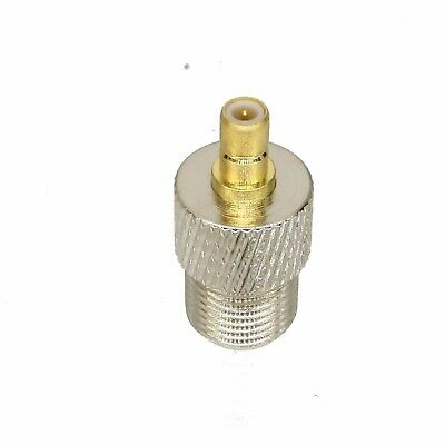 1pce Adapter Connector F TV female jack to SMB male plug for Radio Antenna