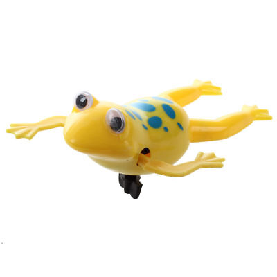 Swimming Frog Battery Operated Pool Bath Toy Wind-Up Toy WS