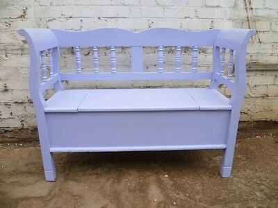 Painted Pine Continental Style Bench