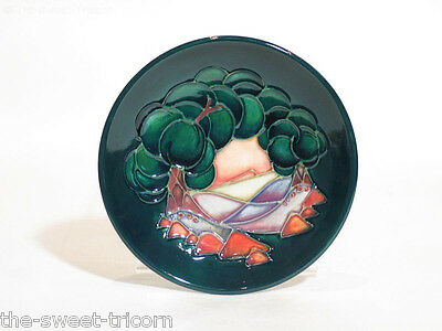 Moorcroft Mamoura Coaster, Sally Tuffin. Excellent, Firsts Quality