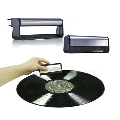 Professional Anti-Static Vinyl Record Velvet Cleaning Cleaner Pad Brush new