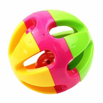 Baby Musical Instrument Hand Shaker Bell Jingle Ring Rattle Ball Toy WS