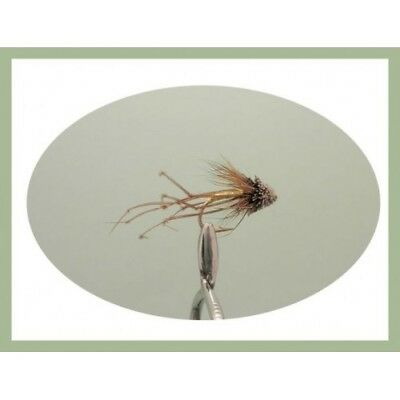 6 Muddler Daddy Long Legs Trout Fly, Size 10/12, Fly Fishing, Trout Flies