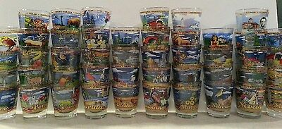 All 50 State Shot Glass Set Plus D.c. New