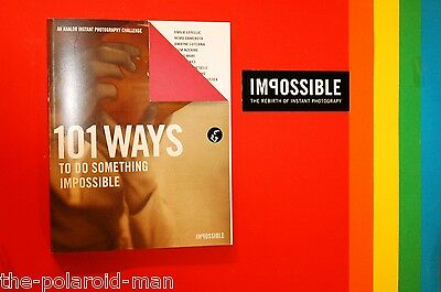 NEW Impossible 101 Ways Book Book creative analog Instant picture Photography