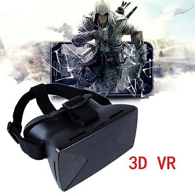 Occhiali 3D Vr Virtual Reality Smartphone 4''-6.5'' Samsung Iphone Asus Huawei