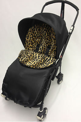 Animal Print  Footmuff / Cosy Toes Compatible with Pushchair Lepoard