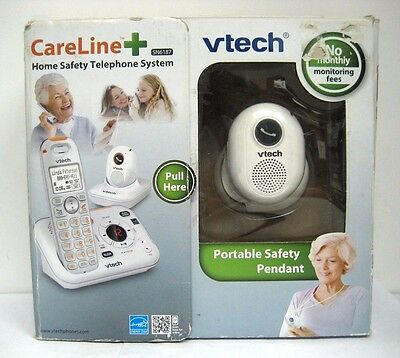 Vtech SN6187 CareLine Base & Pendant Home Safety Telephone System