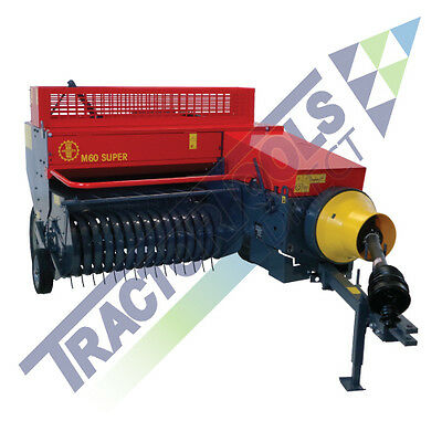Abbriata Compact Square Hay Baler for compact tractors (fits Kubota and others)