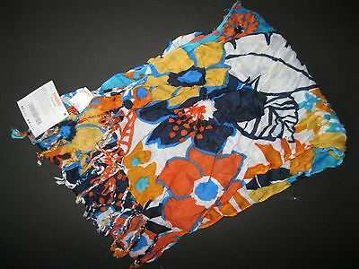 "NWT Gymboree 2011 ""Tropical Bloom"" Girl's Multi Color Scarf One Size"