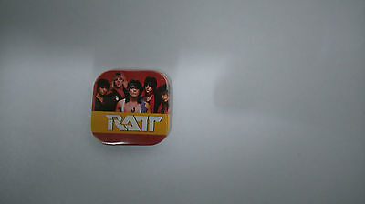 RATT heavy Metal music buttons vintage SMALL BUTTON