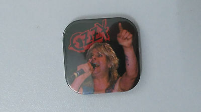 Ozzy Osbourne Black Sabbath heavy Metal music buttons vintage SMALL BUTTON
