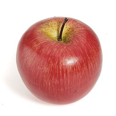 1pcs Decorative Artificial Fake Red Apple Plastic Home Party