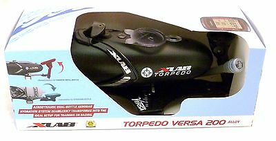 X-Lab Torpedo Versa 200 Alloy Black Triathlon Hydration System Xlab