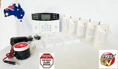 GSM Wireless Home security Burglar House Alarm System Detector SensorSM Wireless