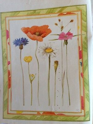 A Poppy Affair Cross Stitch Chart