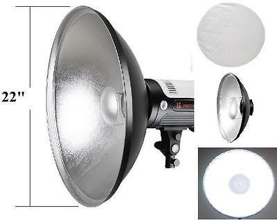 "Pro 22"" Interchangeable Beauty Dish Photo Studio for Bowens"