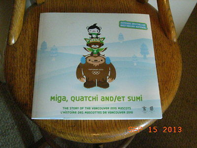 Lot of 10 Vancouver 2010 Olympic Mascot Story book NEW