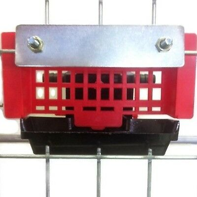 AUTOMATIC QUAIL CAGE DRINKER with 12CM TROUGH for AVIARIES Birds PIGEONS