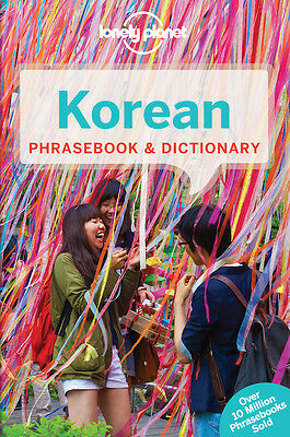 Lonely Planet Korean Phrasebook *FREE SHIPPING - NEW*