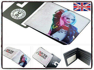 NEW Harley Quinn Suicide Squad Wallet Brand New Batman Cosplay  *UK Stock