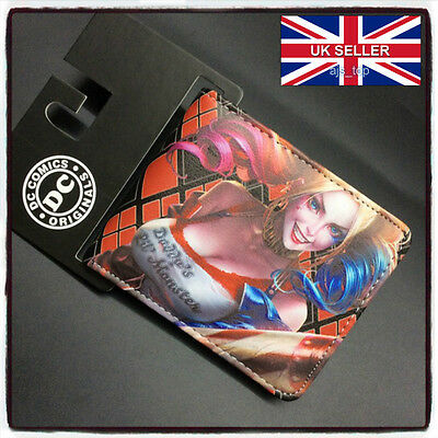 NEW Harley Quinn Suicide Squad Wallet Brand New Batman  *UK Stock