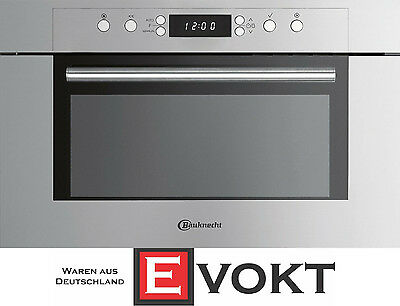 Bauknecht EMCCE 8238/PT Built In Microwave Oven  Stainless Steel Genuine NEW