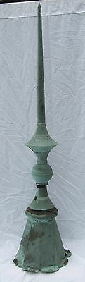 Antique Copper Finial Shipping Available